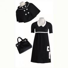 Cape, robe et sac 60's