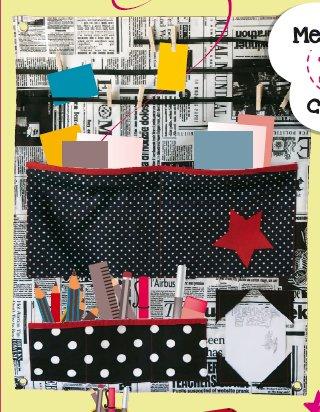 Le rangement mural pop couture - Tuto couture panier de rangement ...
