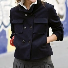patron couture gilet transformable