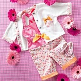 Salopette et veste pour bébé