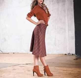 La jupe nouvelle longueur