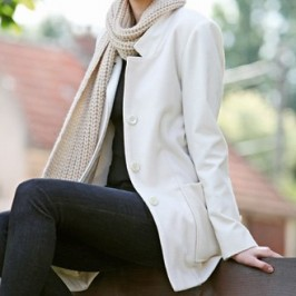 La veste bi-matière