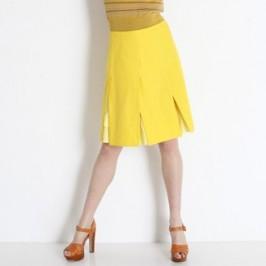 Jupe jaune soleil