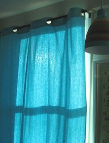 rideaux oeillets pop couture. Black Bedroom Furniture Sets. Home Design Ideas