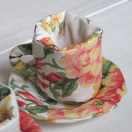 service à thé : la tasse