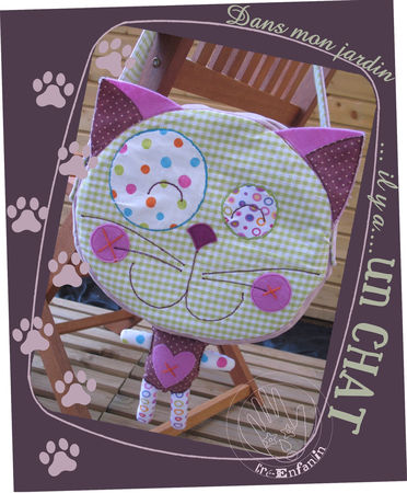 Sac chat pop couture for Boite a couture remplie