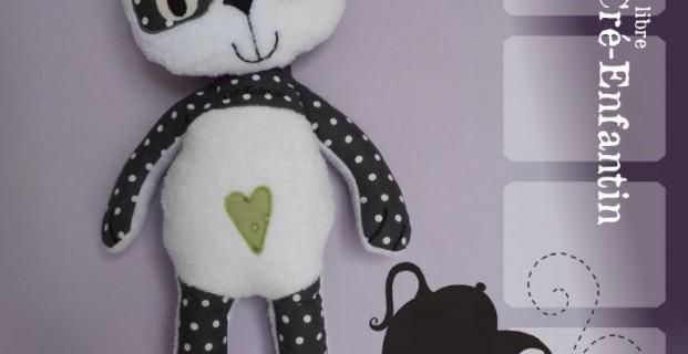 poup e d corative panda pop couture. Black Bedroom Furniture Sets. Home Design Ideas