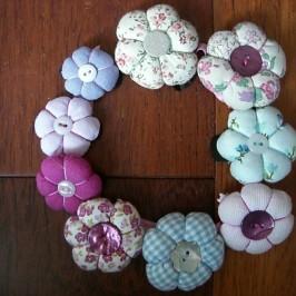 Barrettes «fleurs»