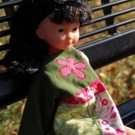 Manteau patch pour poupée Wardoff
