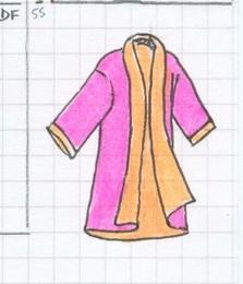 Kimono réversible