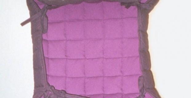 Panière carrée