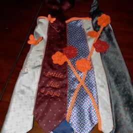 Robe cravatte
