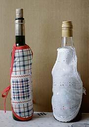 Tablier à bouteilles