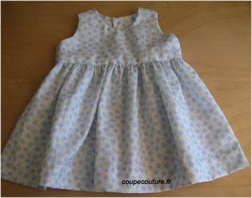 patron couture robe bebe gratuit