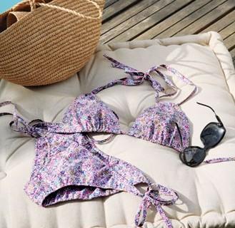 Bikini fleuri