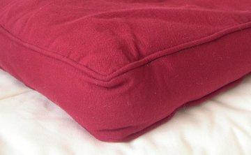 coudre une housse de coussin pais cheap housse de coussin linviscose odorie la redoute. Black Bedroom Furniture Sets. Home Design Ideas