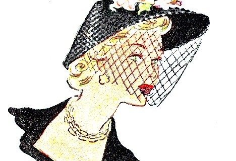 Chapeaux années 50