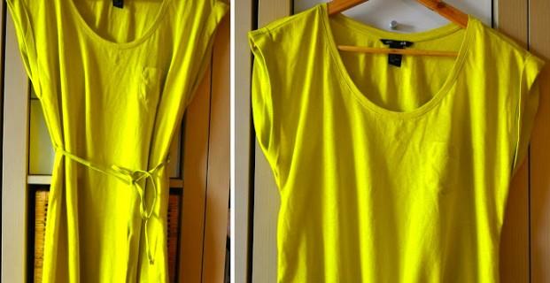 La tunique devient T-shirt