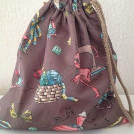 Tuto sac pochon doublé ultra facile à faire !