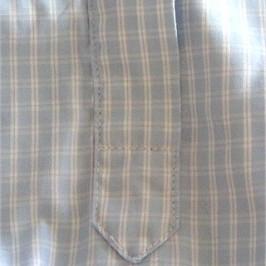Fente de manche de chemise