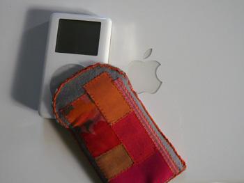 Etui patchwork pour I-pod
