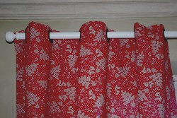 Doubles rideaux à oeillets