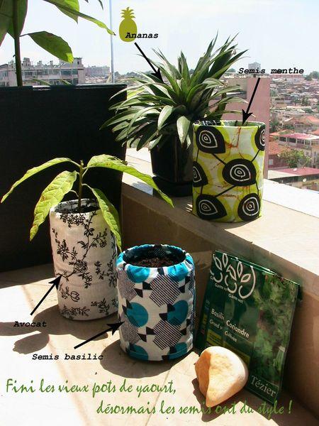 Pots et caches-pots écolos
