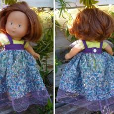 Robe princesse pour poupée