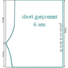 Short garçonnet