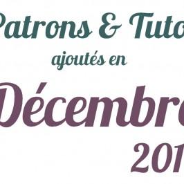 Patrons ajoutés en décembre 2012