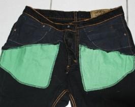 Agrandir des poches de jean