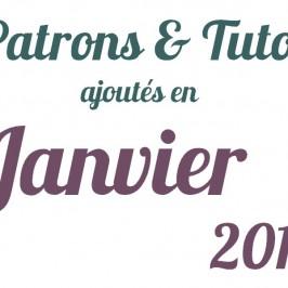 Patrons ajoutés en Janvier 2013