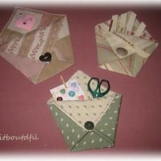 Pochettes origami