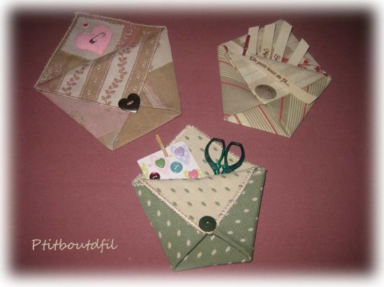 pochette origami pop couture. Black Bedroom Furniture Sets. Home Design Ideas