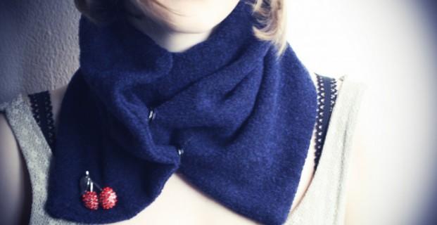 Une écharpe à coudre