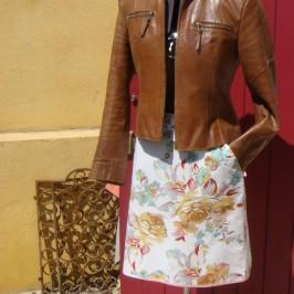 Patrons de jupe trapèze à poche