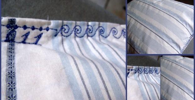 Rénover un oreiller de plumes V1