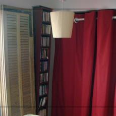 Pose d'oeillets à clips sur rideaux