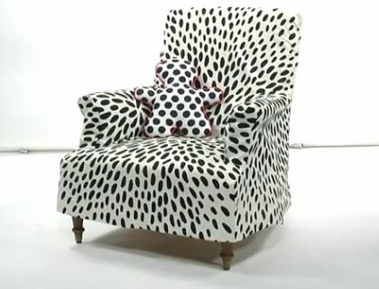 Housse pour fauteuil pop couture for Housse pour fauteuil
