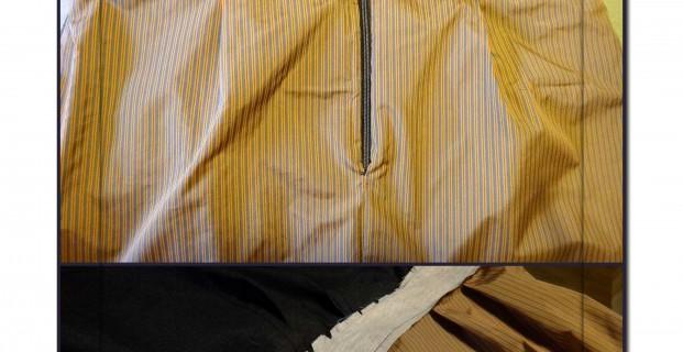 Doublure jupe montée sur parementure de ceinture