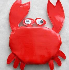 Porte-monnaie crabe