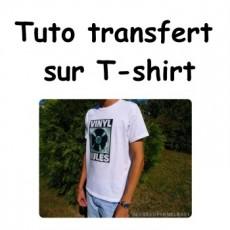 Transfert sur T-shirt