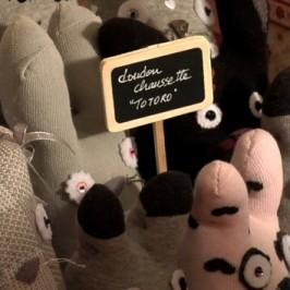 Doudou chaussette Totoro