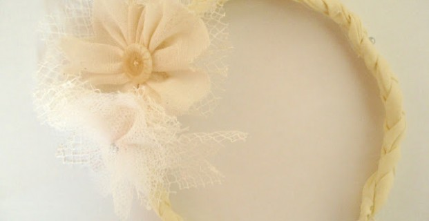 Fleur bi-matière