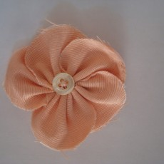 Fleur à 5 pétales en tissu