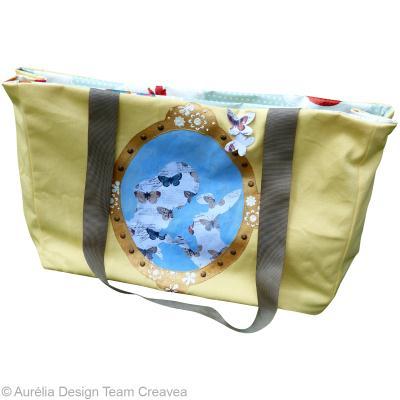 customiser un sac cabas pop couture. Black Bedroom Furniture Sets. Home Design Ideas