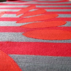 Peinture textile au freezer paper
