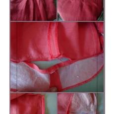 Réduire la taille d'une jupe avec parementure