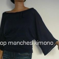 Top manches kimono