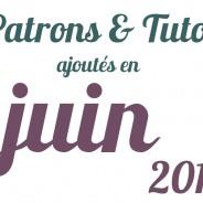 Tutos couture Juin 2013